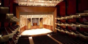 Custom Paneling at Benaroya Hall